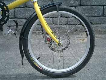 Planet Bike Freddy Front Fender
