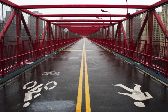 Williamsburg Bridge Bike Path